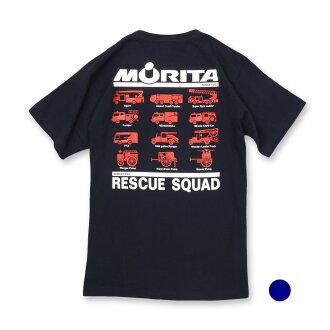森田 T 恤衫 type7 (65-038):RESCUE 警 [救援小分隊。