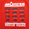 Morita long T shirt type7 [kids] (999-2300) :RESCUE SQUAD [rescue squad.