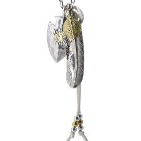 TADY&KING タディアンドキング goro's ゴローズ魂継承 オリジナルカスタム 27 tkorc-027 ネックレス シルバー フェザー ネックレス メンズ インディアンジュエリー シルバーアクセサリー レジスト原宿
