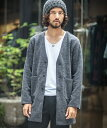 【Magine(マージン)】1632-321AN-Magine×ANGENEHM Melange Double Knit Long Cardigan (MADE...
