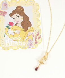 【JAM HOME MADE(ジャムホームメイド)】Beauty and The Beast Rose NECKLACE ネックレス