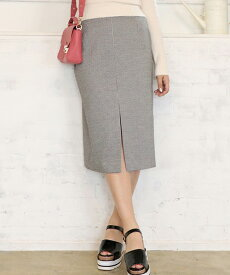 【dazzlin(ダズリン)】021810800301-【sw】ギンガムチェックミディタイトスカート