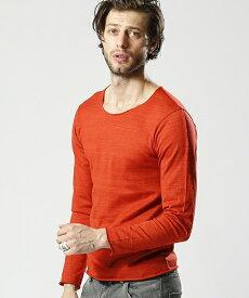 【wjk】cut-off neck cut&sewn L-S カットソー(7844 mj61k)