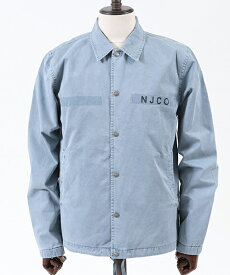 【Nudie Jeans(ヌーディージーンズ)】TORKEL COACH JACKET コーチジャケット(160539)