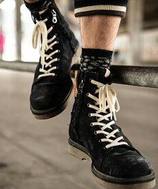 【glamb(グラム)】Slinky denim boots スリンキーデニムブーツ(GB0318-AC01)