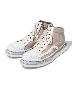 【glamb(グラム)】Horan mid sneakers ホーランミッドスニーカー(GB0318-AC07)