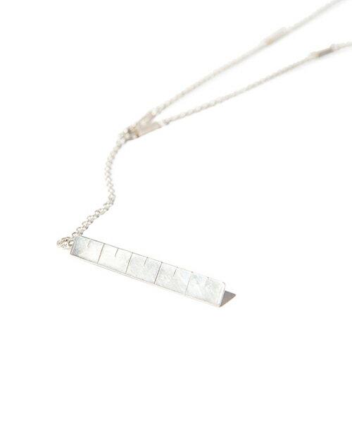 【glamb(グラム)】Tape measure necklace-テープメジャーネックレス(GB0418-AC04)
