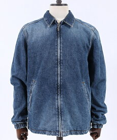 【Nudie Jeans(ヌーディージーンズ)】TORKEL VINTAGE BLUE デニムジャケット(160570)