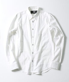 【ANSEASON ANREALAGE】panel patchwork shirt シャツ(ast1202)