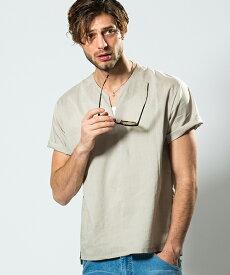 【wjk】V-neck shirt T Tシャツ(4837 cf46n)