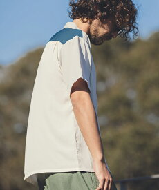 【ANGENEHM(アンゲネーム)】Vintage Like Switch Short Sleeve Shirts(MADE IN JAPAN) シャツ(ANG9-005)