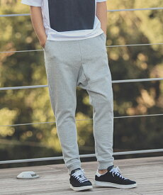 【ANGENEHM(アンゲネーム)】Saruel Tapered Sweat Pants(MADE IN JAPAN) パンツ(ANG9-018)