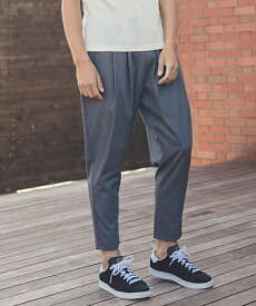 【ANGENEHM(アンゲネーム)】TR Tuck Tapered Ankle Pants(MADE IN JAPAN) パンツ(ANG9-017)