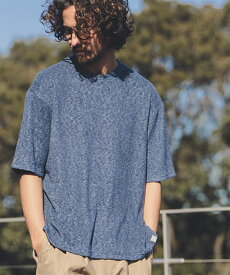 【ANGENEHM(アンゲネーム)】Stretch Pile Big Tee(MADE IN JAPAN) Tシャツ(ANG9-026)
