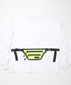 【SUPERTHANKS(スーパーサンクス)】WEST BAG BIC LONG T-SHIRT カットソー(ST192CS004)