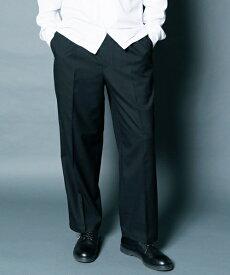 【Magine(マージン)】T-R TWILLSTRETCH 1TUCK WIDE CROPPED PANTS パンツ(1913-39)