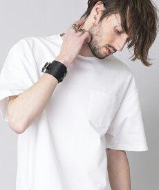 【NO ID.(ノーアイディー)】CパールヴァティシルケットスムースBIG-T Tシャツ(844019-905T)