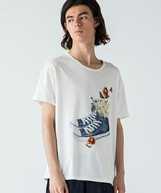 【rehacer(レアセル)】Flower Shoes Tシャツ(01192000026)