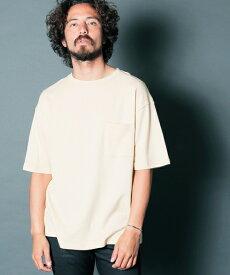 【Magine(マージン)】GAUZE URAKE BIG SILHOUETTE PKT TEE Tシャツ(1912-68)