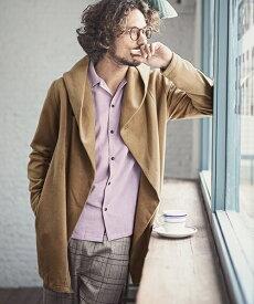 【CAMBIO(カンビオ)】【予約販売10月中旬〜下旬入荷】Brush Shaggy Hooded Coat フードコート