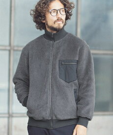 【ANGENEHM(アンゲネーム)】Boa Rib Blouson (MADE IN JAPAN) ブルゾン(ANG-056)