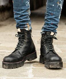 【glamb(グラム)】【予約販売9月下旬〜10月上旬入荷】Strummer boots ストラマーブーツ(GB0319-AC13)