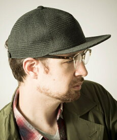 【Mighty Shine】GLENCHECK FLIPCAP キャップ(1194017)