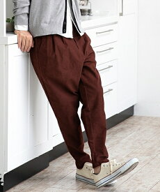 【CAMBIO(カンビオ)】Stretch Cotton Sarrouel Tight Tapered Pants パンツ