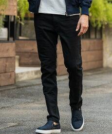 【wjk】long knit-denim pants (OW) デニムパンツ(5901 dj06q)