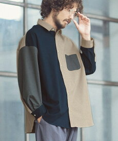 【ANGENEHM(アンゲネーム)】【予約販売一部サイズカラー11月中旬〜下旬】Crazy Over Size Shirts (MADE IN JAPAN) シャツ(ANG-015)