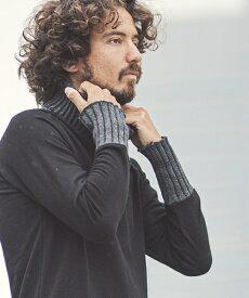 【CAMBIO(カンビオ)】Knit Turtle Neck URAKE Pullover プルオーバー