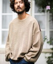 【CAMBIO(カンビオ)】Switch Loose Knit Pullover ニット(TMA9-045)