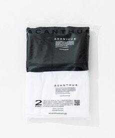 【ACANTHUS(アカンサス)】2 PAC T-SHIRT Tシャツ(PK2001)