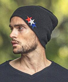 【felkod(フィルコッド)】【予約販売10月中旬〜下旬】Tricolor Star Back Pool Knit Cap(F20W370)