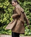 【CAMBIO(カンビオ)】【予約販売9月下旬〜10月上旬入荷】Loose Gun Flap Coat コート(CAM20AW-010)