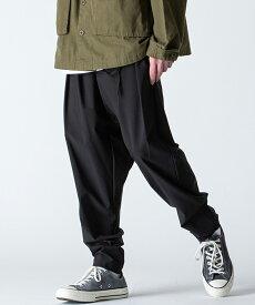 【rehacer(レアセル)】【予約販売10月下旬〜11月上入荷】Cord Sarouel Tapered Pants テーパードパンツ(1200500037)
