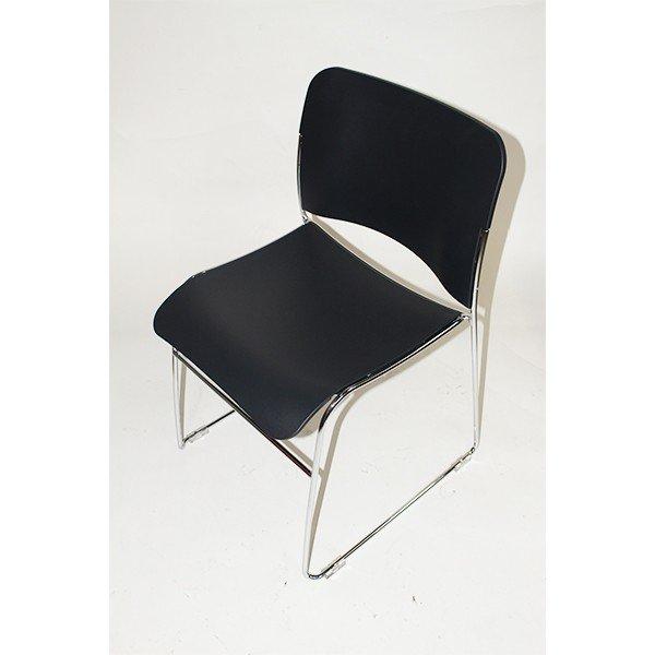 【中古】ミーティング チェア スタッキング 4脚セット アウトレット アルティ Gita 会議椅子