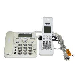 【中古】電話機 子機1台 コードレス 留守番電話 VE-GD32DL ホワイト Panasonic パナソニック 送料無料