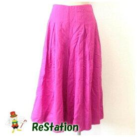【中古】ミラオーウェン Mila Owen レディース スカート見えガウチョパンツ ピンク サイズ0