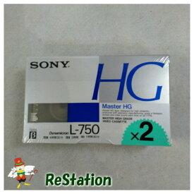 【新品】SONY 3時間βテープ2本パック 2L-750MHG