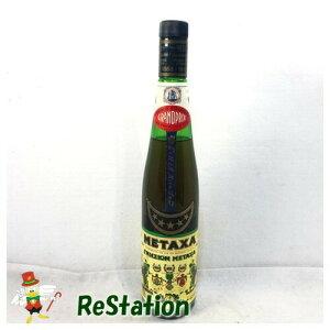 【未成年の飲酒は法律で禁じられています】メタクサ ファイブスター 38度700mlオールドボトル