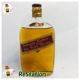 【未成年の飲酒は法律で禁じられています】ジョニーウォーカー赤ティンキャップスキットル
