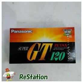 【未使用品】パナソニック VHSビデオテープ SUPER GT 120分 2本パック NV-T120XGT2