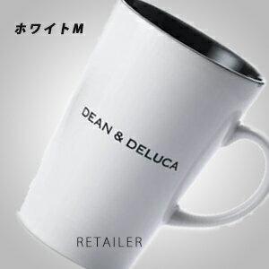 ♪#ホワイトM【DEAN & DELUCA】ディーンアンドデルーカラテマグ 370ml<マグカップ><陶器><ディーン&デルーカ>