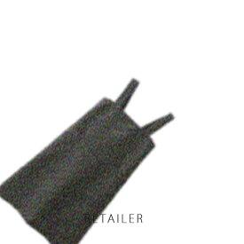 ♪ #墨黒 M【無印良品】麻平織 肩掛けエプロン #墨黒 M<キッチン用品><台所用品>