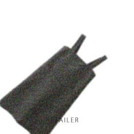 ♪ #墨黒 L【無印良品】麻平織 肩掛けエプロン #墨黒 L<キッチン用品><台所用品>