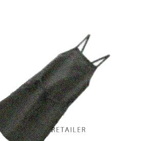 ♪ #墨黒【無印良品】麻平織 肩クロスエプロン #墨黒<キッチン用品><台所用品>