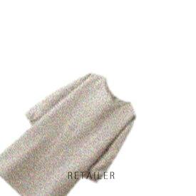 ♪ #生成【無印良品】麻平織 割烹着 #生成 ドロップショルダー<キッチン用品><台所用品>