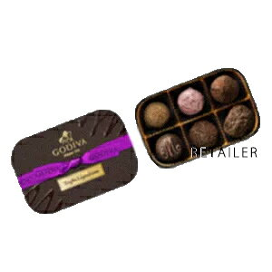 ♪ 6粒入【GODIVA】ゴディバレジェンデールトリュフ6粒<お菓子・チョコレート・詰め合わせ>