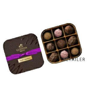 ♪ 9粒入【GODIVA】ゴディバレジェンデールトリュフ9粒<お菓子・チョコレート・詰め合わせ>